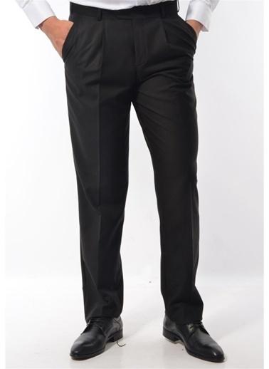 Modaplaza Erkek Pantolon Siyah Kumaş Siyah